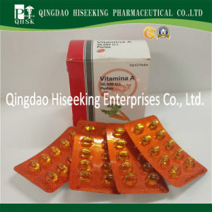 Pharmaceutical Chemicals GMP Certified Vitamin a Softgel pictures & photos