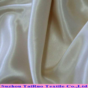 100% Poly Stretch Satin Fabric for Lady Dress Fabric pictures & photos