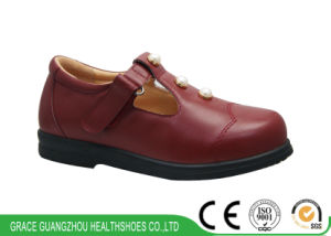 Women Casual Comfort Shoes Pearl Style Lady Shoes pictures & photos