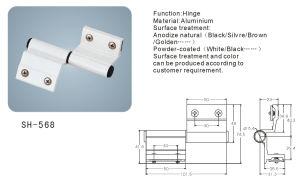 Aluminium Hinge for Doors and Windows (SH-568) pictures & photos