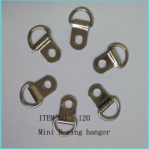 Mini D Ring Picture Frame Hanger Hook 120 pictures & photos