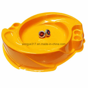 Electronic Gyro Toys Alloy Fighting Gyro Plate Toy Accessories pictures & photos