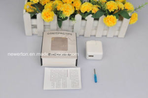 Mini GSM SIM Card Ear Bug USB Wall Charger Voice Activated Listening Device pictures & photos