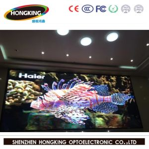P3 Indoor HD Flexible Display Screen LED for Stage Background, Conference, Events (SMD2121 black LED panel) pictures & photos