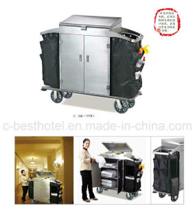 Partu Hotel Housekeeping Cleaning Maid Carts pictures & photos