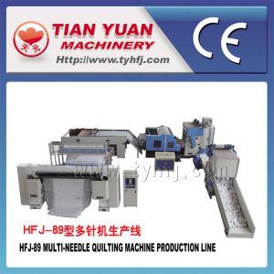 Multi Needle Quilting Machine Production Line (HFJ-89) pictures & photos