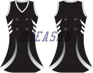 100% Top Polyester Custom Sublimation Netball Uniform (N002) pictures & photos