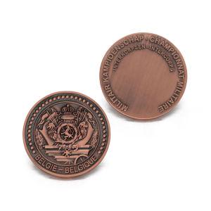 Wholesale Antique Silver Award Souvenir Coin Shopping Zinc Alloy Keyholder pictures & photos