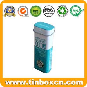Metal Rectangular Gum Container for Mint Tin, Candy Tin Box pictures & photos