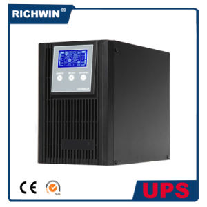 3kVA Pure Sine Wave Double Conversion High Frequency Online UPS pictures & photos