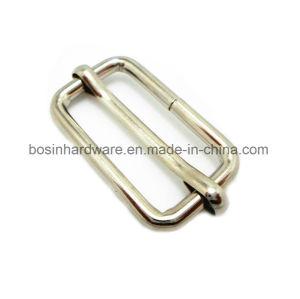 Nickel Plated Steel Metal Slide Buckle Adjuster pictures & photos
