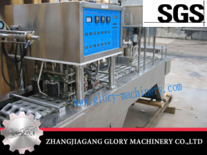 Fully Automatic Water Cup Sealing Machine pictures & photos