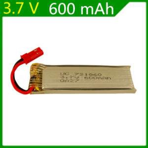 3.7V 600mAh Remote Control Aircraft Flying Saucer Remote Axis 3.7V 600mAh Lithium Battery Jst Red Plug 721860 pictures & photos