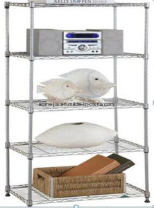 Metal Wire Display Exhibition Storage Shelving for The Netherlands Shelf pictures & photos