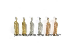 Special Design and 925 Sterling Silver Grimace Earring Statement Earring for Girl E6744 pictures & photos