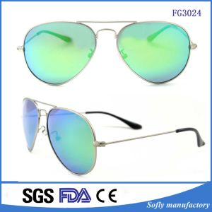Free Sample Good Quality UV400 Custom Mirror Sunglasses pictures & photos