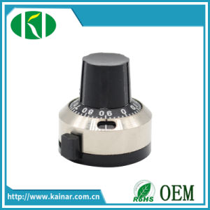 10 Turns Dial Knob for Wire Wound Potentiometer Kn2j-22-18A pictures & photos