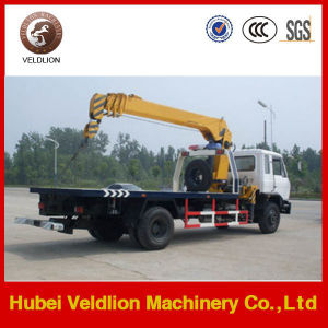 Dongfeng Tow Wrecker Truck with Crane 8 Ton pictures & photos