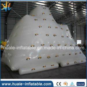 Hot Commercial Inflatable Water Climbing Iceberg, Inflatable Floating Climbing for Sale