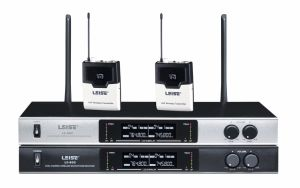 Ls-802 PRO Audio Dual Channels UHF Wireless Microphone pictures & photos