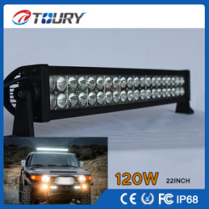 LED Light Bar 120W Single Row 4X4 Auto Lighting Curved Lamp pictures & photos