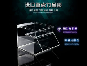 Transparent Acrylic Table Style Storage Box pictures & photos