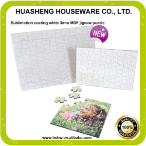 Dye Sublimation Printing MDF Puzzle