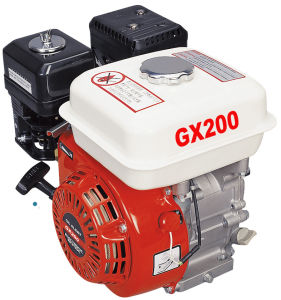 6.5HP Air-Cooled Electric or Recoil Start Ohv Gasoline Engine 4-Stroke pictures & photos