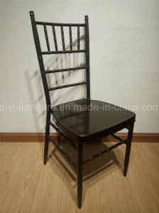 Wedding Iron Chiavari Chair with Mobile Seat Cushion pictures & photos