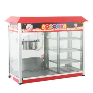 Popcorn Machine with Warmer Showcase Eb-11 pictures & photos