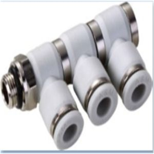 Phl (3) -G Triple Elbow Cheap Pneumatic Fittings One Touch Tube Fittings pictures & photos