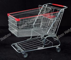 American Style Supermarket Retail Store Convenient Shopping Trolley pictures & photos