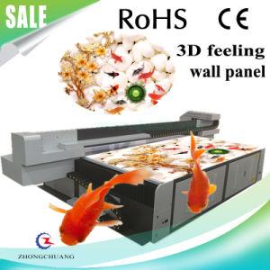 3D Floor/Wall Panel/Wooden Door UV Flatbed Printer pictures & photos