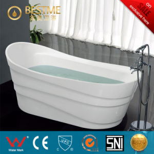Wholesale Price Simple Design Acrylic Bathtub (BT-Y2501) pictures & photos