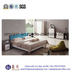 Modern Melamine Bedroom Sets furniture From China (SH-029#) pictures & photos