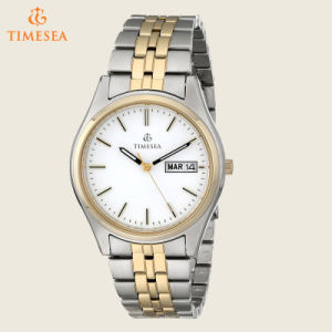 Men′s Two-Tone Stainless Steel Solar Watch 72564 pictures & photos