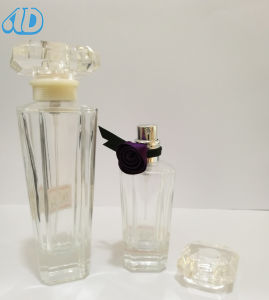 Ad-P187 Spray Transparent Perfume Glass Bottle 100ml 25ml pictures & photos