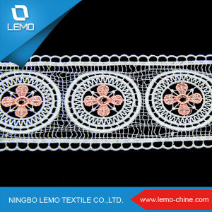 Organza Sequence Lace Textile Fabric Wholesale pictures & photos