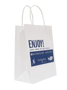 Wholesale Cheap Eco Laminated Paper Shopping Bag pictures & photos