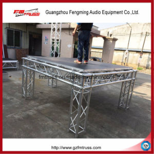 1.22*1.22m or 1.22*2.44m Waterproof Plywood Adjustable Four Legs Stage pictures & photos