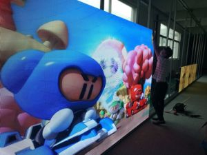 SMD P3 Indoor LED Display Screen for Advertising Panel pictures & photos