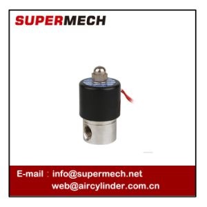 2s Series Stainless Steel Water Pneumatic Solenoid Valve pictures & photos