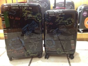 Polycarbonate Luggage 100% Pure High Quality with Print
