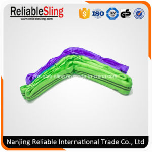 Synthetic Fabric Color Code Industrial Rigging Lifting Straps pictures & photos
