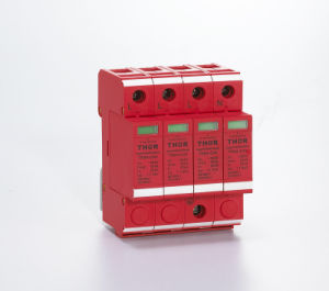 DIN Rail 1p, 2p, 3p, 4p AC 220V Power Surge Protector pictures & photos