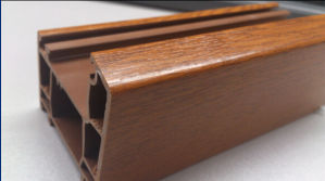 High Anti-UV Wood Lamination Profiles for Window and Door pictures & photos