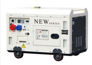 7.5kw Electric Silent 198f Diesel Generator pictures & photos