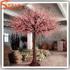 Outdoor Decoration Fiberglass Artificial Cherry Blossom Tree pictures & photos