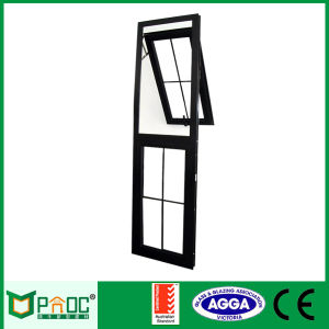 Aluminum Awning Top Hung Window with Australian Standard As2047 pictures & photos