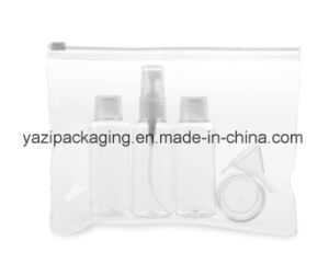 5PCS Portable Cosmetic Travel Bottle Set with PVC Bag for Travelling pictures & photos